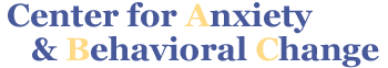 Center for Anxiety & Behavioral Change in Rockville, MD and McLean, VA Logo